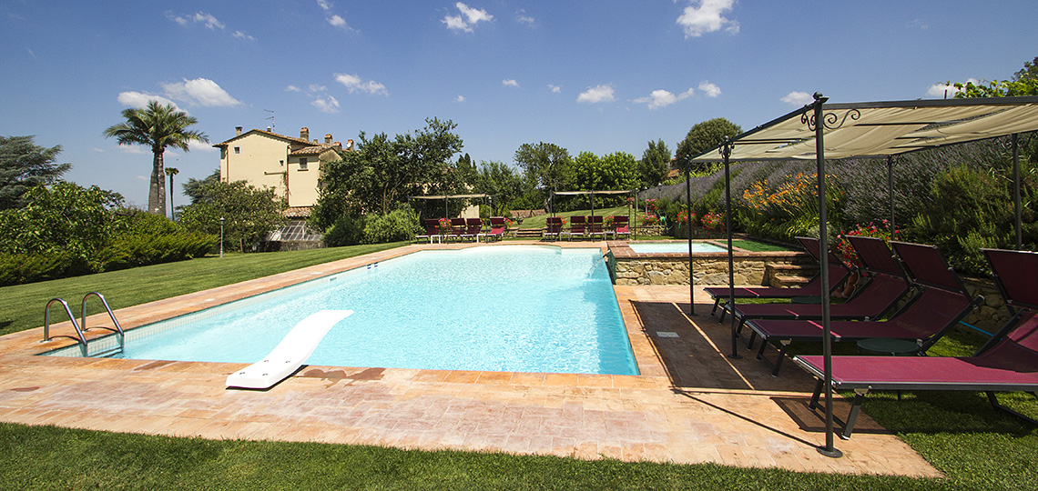 Villa il Trebbio, holiday home with swimming pool