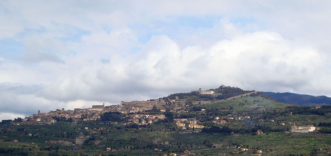 Cortona, beautiful art town